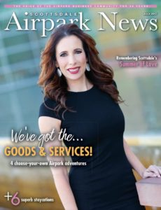 Andrea Aker Featured on the Cover of Scottsdale Airpark News for Marketing Expertise