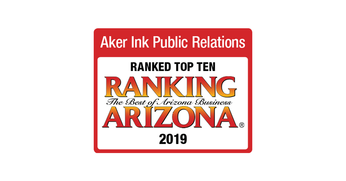 Ranking Arizona Top 10 Public Relations Firms