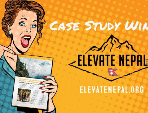 Winner of Case Study Giveaway Unveiled! Introducing Elevate Nepal